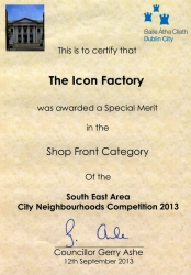 Dcc Award SHOP FRONT CATEGORY