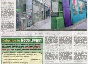 Metro Eireann by Faye Strawn