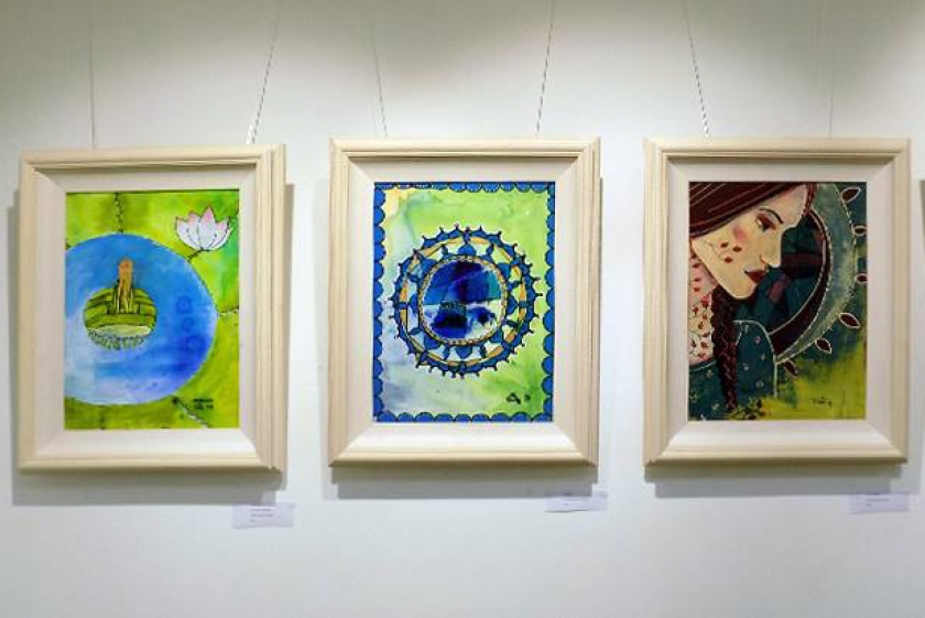 "EXHIBITION: ""THE MANDALA EFFECT"" by Emily Nayhree"