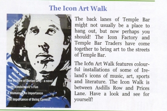 TEMPLE BAR - The Icon Art Walk