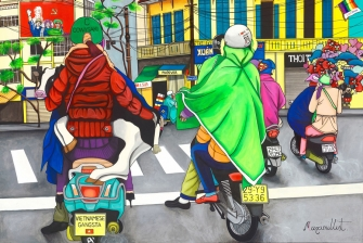 "EXHIBITION: ""ALL WALKS OF LIFE"" by Maximillist Art"
