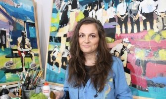 VAGABUNDLER - Interview with resident artist Aga Szot