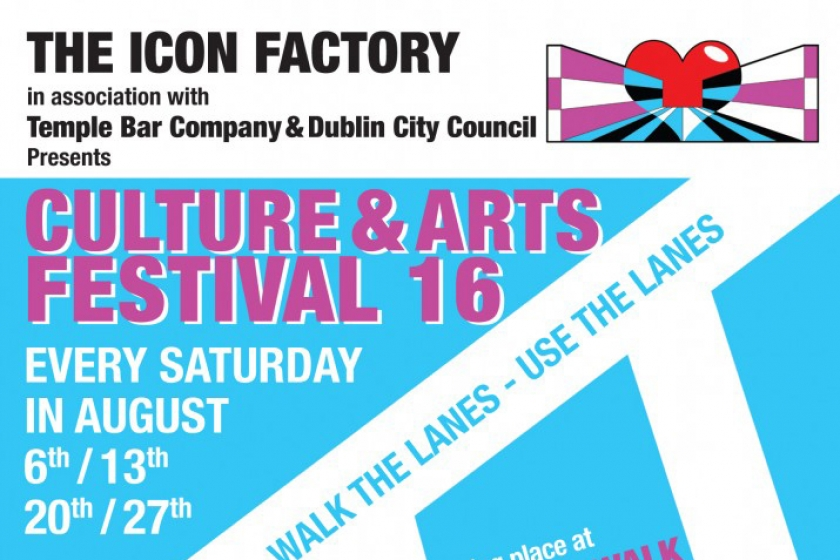 CULTURE & ARTS FESTIVAL: At the Icon Walk and Icon Factory, August 2016.