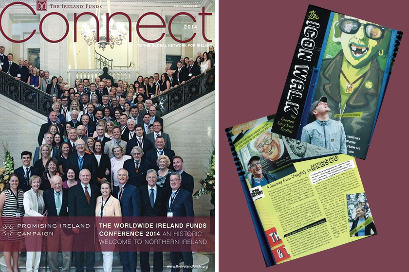 A JOURNEY FROM UNSIGHTLY TO UNESCO - 'Connect Magazine' The American Ireland Funds