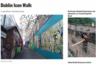JANALINE'S WORLD JOURNEY - Dublin's Icon Walk