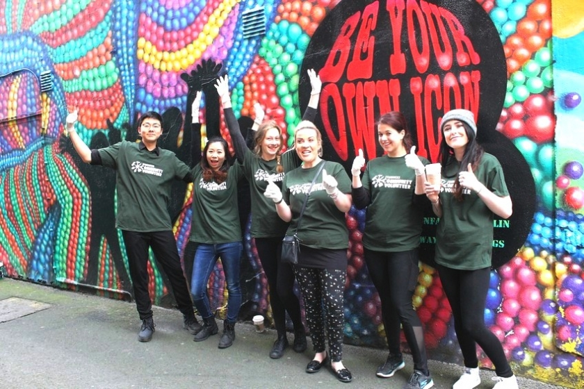 RE-PAINTING THE ICON WALK: With The Starbucks Team