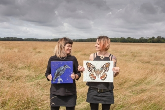 "EXHIBITION: ""Wee Winged Wild Wonders"" by Orla Mellon and Ali-P"